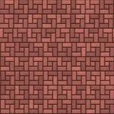 Trottoir de brique illustration stock