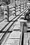 Trottoir de courbe photographie stock libre de droits