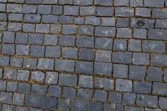Trottoir de tuile de granit Images libres de droits