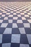 Trottoir géométrique Photo libre de droits
