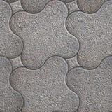 Trottoir granulaire Texture sans joint de Tileable photo stock