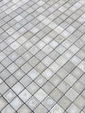 Trottoir gris photo stock