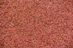 Trottoir rouge d'asphalte image libre de droits