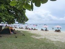 Trou-aux-Biches, Mauritius stock image