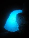 Trou bleu Image stock
