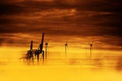 Trou d'ozone - la grande chaleur Image libre de droits