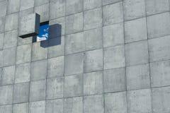 Trou dans le concept de liberté de mur Photographie stock libre de droits