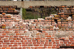 Trou dans le mur image libre de droits