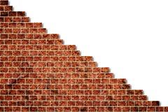 Trou dans un mur de briques Photo libre de droits
