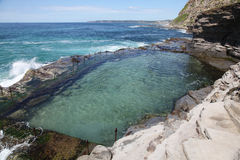Trou de charriot - Newcastle Australie Photographie stock