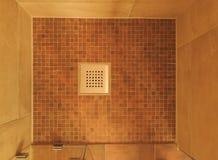 Trou de drain de l'eau Photo stock