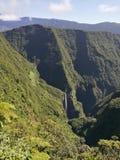 Trou de fer waterfalls. Ile de la réunion Royalty Free Stock Images
