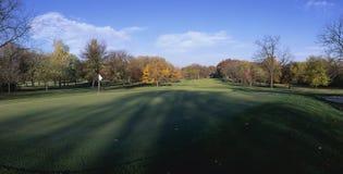 Trou de golf Image libre de droits