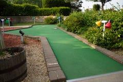 Trou de golf miniature Images libres de droits