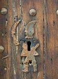 Trou de la serrure antique Image libre de droits