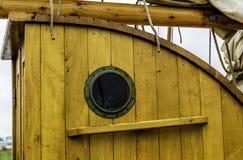 Trou de port Image libre de droits
