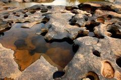 Trou de roche Images libres de droits