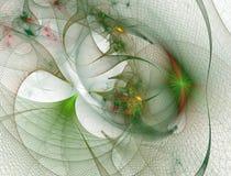 Trou de ver abstrait de grille Portails 3d futuristes dans l'espace illustration de vecteur