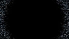 Trou de ver, scène abstraite fliy dans l'espace Photographie stock