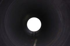 Trou mystérieux de tunnel photographie stock