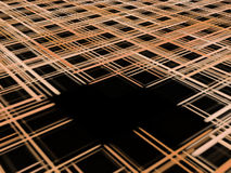 trou noir Photo stock