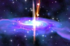 Trou noir stellaire Images stock