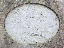Trou rond sur la pierre Images libres de droits