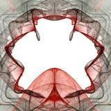 Trou rouge Image libre de droits