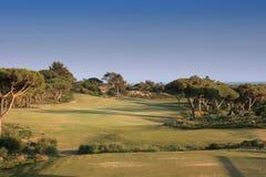 Trou un dans le golf d'oitavos Photo stock