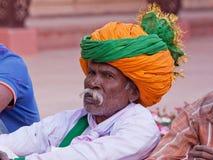 Troubadour de Rajasthani Photo stock