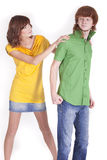 Trouble in relationship Royalty Free Stock Photo