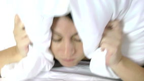 Trouble sleeping Royalty Free Stock Image