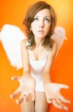 Troubled Angel Royalty Free Stock Photo
