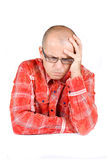 Troubled man Royalty Free Stock Photo