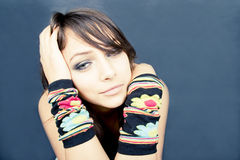 Troubled Teen stock images