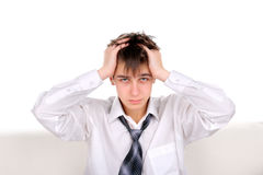 Troubled teenager Royalty Free Stock Images