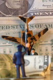 Troubled times.Conspiracy debt. Crash,conspiracy & debt.America Royalty Free Stock Photos