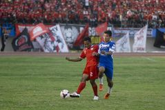 TROUBLESOME INDONESIAN SOCCER WORLD Royalty Free Stock Photography