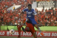 TROUBLESOME INDONESIAN SOCCER WORLD Stock Photography