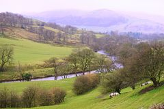 Trough of Bowland Royalty Free Stock Photo