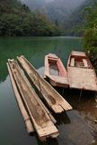 """ Trough-like Boat"". "" Trough-like Boat Stock Photography"