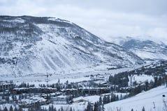 Trought d'un état à un autre les montagnes 2 de 4 Images stock