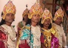 Troup tribal Fotografia de Stock Royalty Free