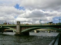 Troupe cinematografica a Londra fotografia stock libera da diritti