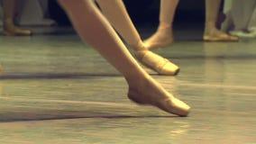 Troupe di balletto stock footage