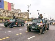 Troupes de la Roumanie Images libres de droits