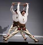 Troupes nationales de danse de la Pologne - le Mazowsze Photo libre de droits
