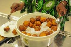 Trous de beignet d'Afrique photos libres de droits
