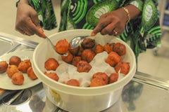 Trous de beignet d'Afrique images libres de droits