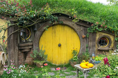 Trous de Hobbit Photo libre de droits